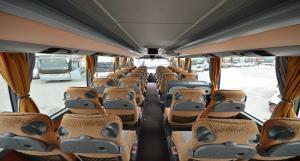 Εσωτερικό λεωφορείου SETRA S411  HD