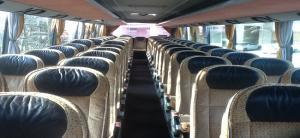 Εσωτερικό λεωφορείου SETRA S417 HDH  59 + 1 + 1 θέσεων