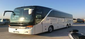 Λεωφορείο SETRA S415 HDH EURO 5 VIP 44+ 2 + 1  θέσεων με γυάλινη οροφή, τουαλέτα και κουζίνα