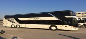 Λεωφορείο διώροφο SETRA S431DT  83 + 1 + 1 θέσεων με τουαλέτα και κουζίνα