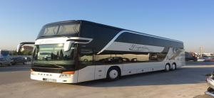 Υπερπολυτελή διώροφο λεοφωρείο SETRA S431DT  83 + 1 + 1 θέσεων με τουαλέτα και κουζίνα