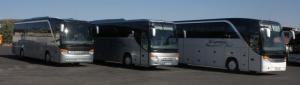 Τα λεωφορεία μας